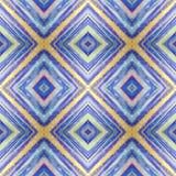 Ruit abstract stammen naadloos patroon moderne modieuze textuur Het herhalen van geometrische tegels met ruit Textielstoffendruk  Stock Fotografie