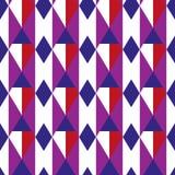 Ruit geometrisch naadloos patroon Kooi eindeloze achtergrond Vierkante het herhalen textuur In achtergrond voor textiel royalty-vrije illustratie