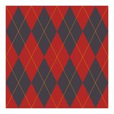 Ruit - Geometrisch ontwerp voor stof vector illustratie