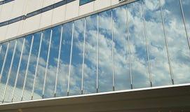Ruit van het gebouw stock foto