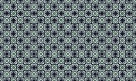 Ruitachtergrond Abstract zwart-wit patroon van dwars of kruisende lijnen Stock Foto