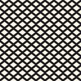 Ruiten naadloos patroon Textuur met het snijden van lijnen, rooster, netwerk Stock Fotografie