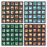 Ruiten in vierkanten seamles patronen Royalty-vrije Stock Foto