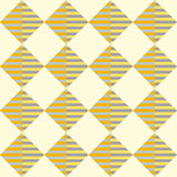 Ruitvormig naadloos geometrisch patroon Royalty-vrije Stock Afbeelding