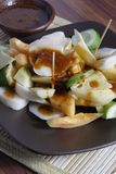 Rujak, Traditional fruit salad dish Royalty Free Stock Photos