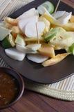 Rujak, Traditional fruit salad dish Royalty Free Stock Photography