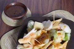 Rujak, Traditional fruit salad dish Royalty Free Stock Photography