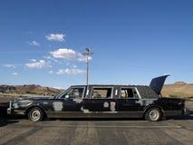 Rujnująca limuzyna zdjęcie royalty free