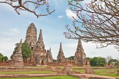 Rujnująca starej świątyni budowa od cegły Fotografia Royalty Free
