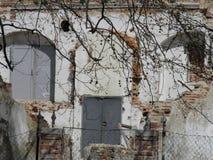 Rujnujący domowi pokazuje wnętrza Zdjęcia Royalty Free