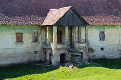Rujnujący domowy wejście Obraz Royalty Free