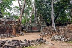 Rujnujący miasto antyczny Khmer Zdjęcie Stock