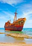 rujnujący shipwreck Obrazy Royalty Free