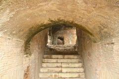 Rujnuje schodki tunelowych Obraz Stock
