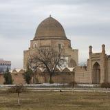 Rukhabad (Ruhabad) mausoleum i Samarkand, Uzbekistan Arkivbild