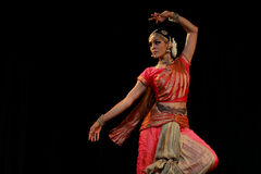 Rukmini - Bharatanatyam Dance Recital Royalty Free Stock Images