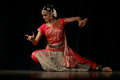 Rukmini - Bharatanatyam Dance Recital Stock Photography