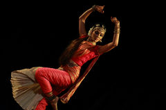 Rukmini - Bharatanatyam Dance Recital Royalty Free Stock Photos
