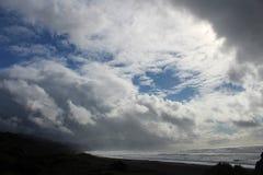 Rukwindslagen in Kaap Sebastion royalty-vrije stock afbeeldingen