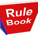 Rule Book Policy Guide Manual. Rule Book Policy Guidance Manual Royalty Free Stock Photos