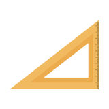 Rule school supply icon Stock Images