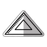 Rule school supply icon. Illustration design Stock Photo