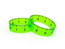 Ruler. 3d, Infinity Ruler, Measuring, Straightedge Stock Images