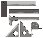 Ruler Stock Image