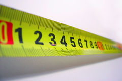 Ruler. Close-up of ruler royalty free stock photos