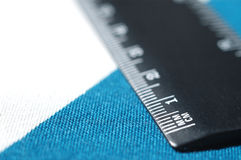 Ruler. It is a close up view of ruler royalty free stock photos