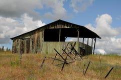 Ruler America Barns and life in Idaho. Southern Idaho /NezPerce county/Idaho /USA _ 23 June 2018. .Life and farmland in Sothern Idaho Nez Perce county . Photo royalty free stock images