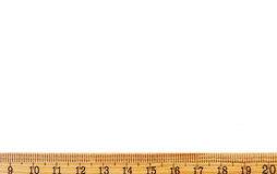 Ruler as a frame Royalty Free Stock Photo