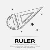 Ruler Royalty Free Stock Image