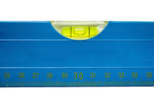 Ruler with level Stock Photography