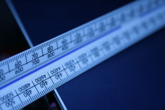 ruler scale Στοκ φωτογραφία με δικαίωμα ελεύθερης χρήσης