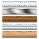 Ruler set Royalty Free Stock Photos