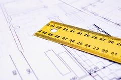 Ruler tool royalty free stock photos
