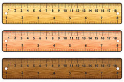 Ruler. Vector illustration of the rulers Stock Photography