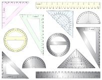 Rulers Stock Photography