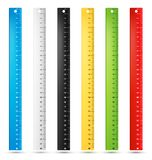 Rulers in centimeters Stock Image