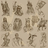 Rulers - An hand drawn vector pack Royalty Free Stock Images