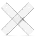 Rulers icon Royalty Free Stock Photography