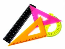 Rulers set Stock Photo
