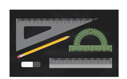 Rulers set vector Royalty Free Stock Image