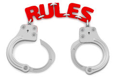 Rules as limiter of freedom Stock Photography
