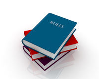 Rules book Royalty Free Stock Images