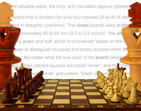 Rules of the game royalty free stock image
