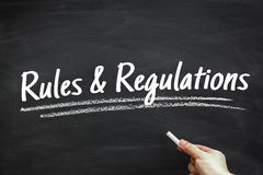 Rules And Regulations Royalty Free Stock Images