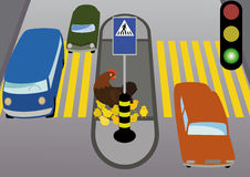 Rules of road Stock Photos