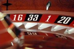 Ruleta del casino Imágenes de archivo libres de regalías